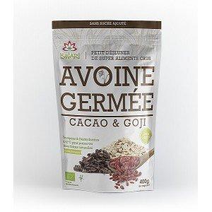 Avoine Germée – Cacao & Goji BIO 400g - Iswari