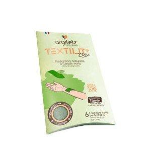 Compresses d'argile verte - Textilit Zen- Argiletz