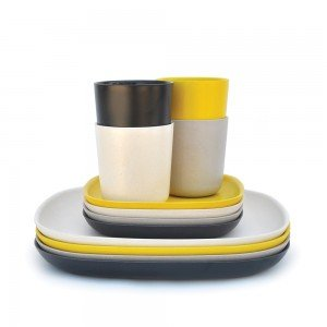 Set Déjeuner / Gusto - Black, Stone, White - BIOBU