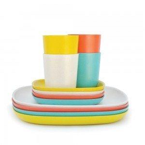 Set Déjeuner / Gusto - Persimmon, White - BIOBU