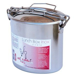 Lunch-Box Inox Ovale Ah Table
