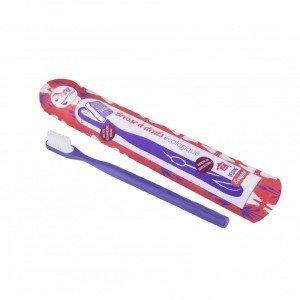 Brosse à dents rechargeable - Violette - Souple - Lamazuna