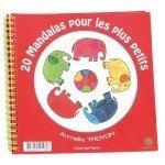 Cahier de coloriage 20 mandalas pour enfants - Ecodis