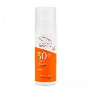 Crème solaire Visage SPF30 certifiée Bio - Biarritz