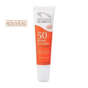 Baume à lèvres SPF30 Mer et Montagne certifié Bio - Biarritz
