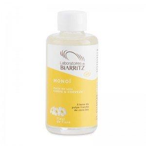 Monoï Fleur de Tiaré certifié Bio - Biarritz