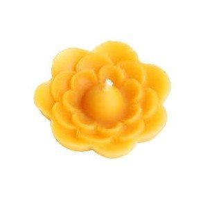 Bougie Fleur cire