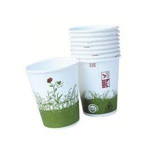 12 Gobelets 25 cl carton/Bioplastique