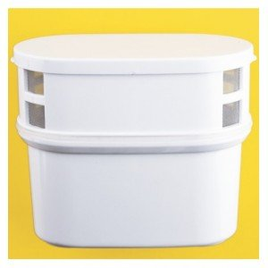 Cartouche rechargeable ovale universelle pour Filtre-pichet