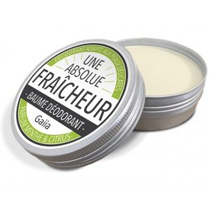 Baume Déodorant Bio Fraicheur / Parfumé - Gaiia