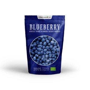 Crunchy fruit - Myrtille sauvage lyophilisé bio - Organica