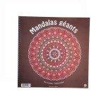 Cahier 18 Mandalas Géants - Ecodis