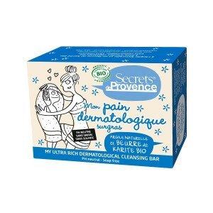 Pain dermatologique surgras 90g sans savon - Secrets de Provence