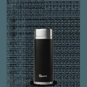 Théière nomade iso inox noir 300ml - Qwetch