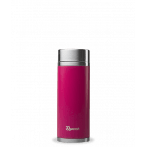 Théière nomade iso inox rose magenta 300ml - Qwetch