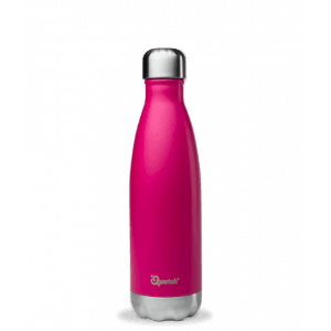 Bouteille isotherme magenta rose 500ml - Qwetch