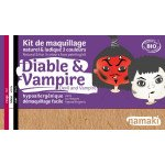 Kit Maquillage 3 couleurs diable & vampire BIO - Namaki