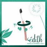 Brosse à dents Edith à tête interchangeable medium - Bioseptyl