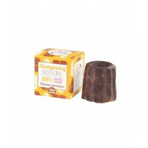 Shampoing solide ch. normaux CHOCOLAT Lamazuna