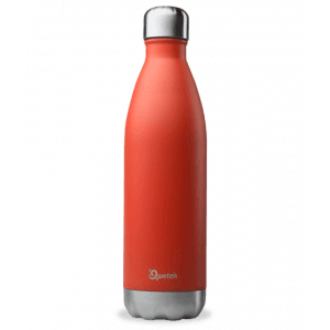 Bouteille isotherme rouge 750 ml - Qwetch