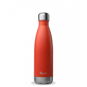 Bouteille isotherme rouge 500ml - Qwetch