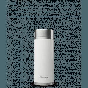 Théière nomade iso inox blanc brillant 300ml - Qwetch