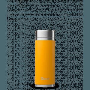 Théière nomade iso inox Orange safran 300ml - Qwetch
