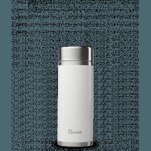 Théière nomade iso inox Blanc brillant 400ml - Qwetch