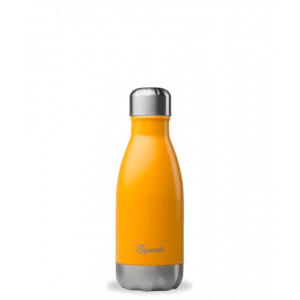 Bouteille isotherme orange 260ml - Qwetch