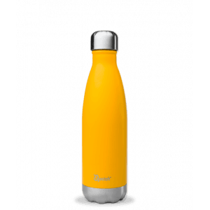 Bouteille isotherme inox orange 500ml - Qwetch