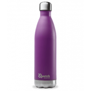 Bouteille isotherme inox pourpre 750ml - Qwetch