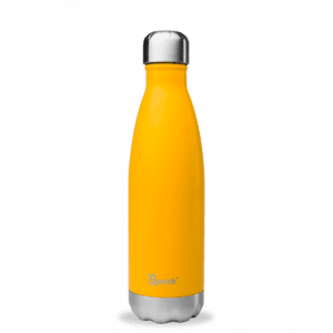 Bouteille isotherme inox orange 750ml - Qwetch