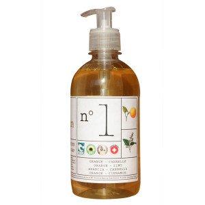 Savon Liquide Numéro 1 - Orange + Cannelle 300ml - Helvetia Natura
