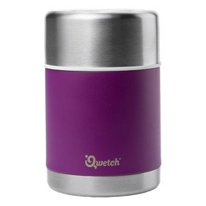 Lunchbox isotherme inox pourpre 500ml - Qwetch