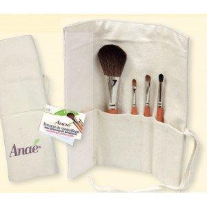 Trousse de maquillage et pinceaux - Anaé