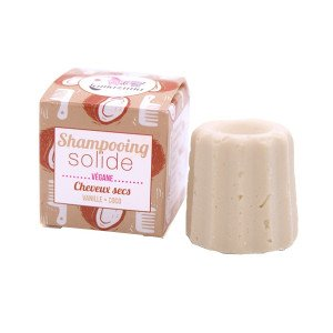 Shampoing solide, Ch. secs Vanille et Coco - Lamazuna