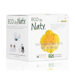 Naty Eco Serviettes Périodiques pour la nuit - 10 pcs