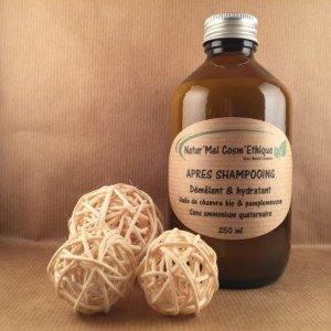 Après-Shampoing Démêlant & hydratant - Natur'Mel Cosm'Ethique
