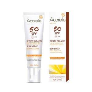 Spray Solaire SPF 50 – 100 ml - Acorelle