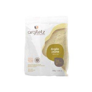 Argile jaune poudre ultra-ventilée 200g - Argiletz