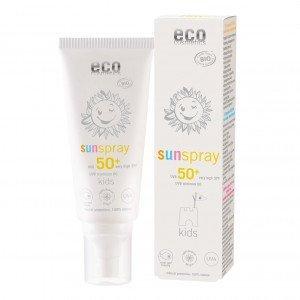 Kids Spray solaire indice 50 - 100ml - Eco Cosmetics