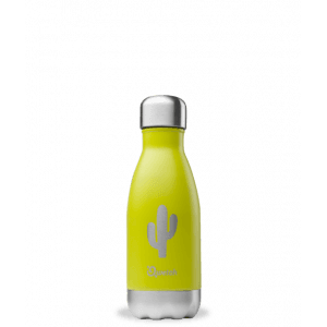 Bouteille isotherme Summer Vert - Cactus - 260ml - Qwetch
