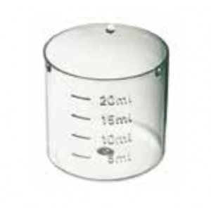Mesurette Veral standard, incassable, translucide 20 ml