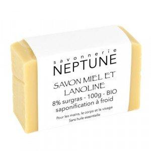 Savon miel et lanoline - Neptune