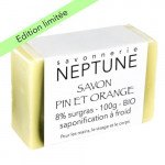 Savon pin et orange - Neptune
