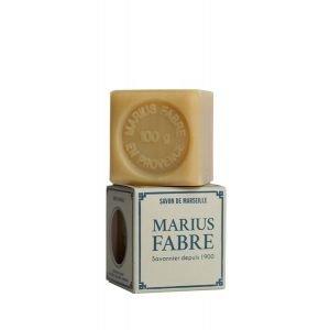 Savon de Marseille BLANC Brut 100 g - Marius Fabre