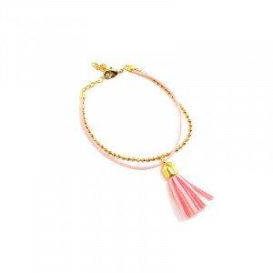 Bracelet Anna - Doré, Rose - Millescence