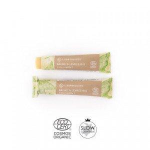 Baume à lèvres bio à la vanille - L'Esperluète