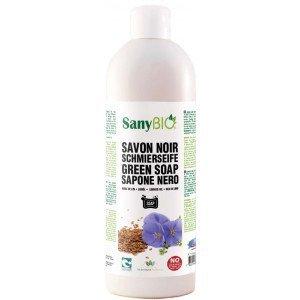 Savon noir liquide 1000ml - SanyBio