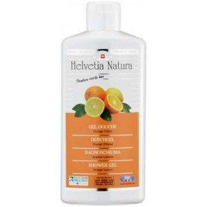 Gel Douche Orange Citron 250ml - Helvetia Natura